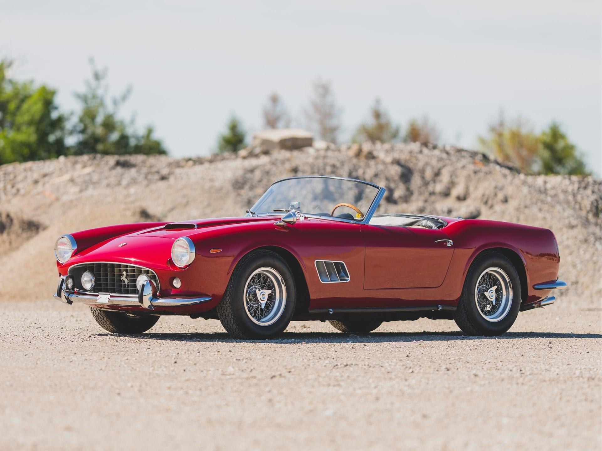 1962 Ferrari 250 California Swb Spider By Scaglietti Vin 4131 Classic Com