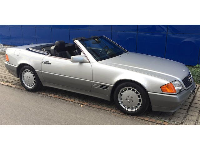 1989  Mercedes-Benz  500 SL Roadster With Hardtop