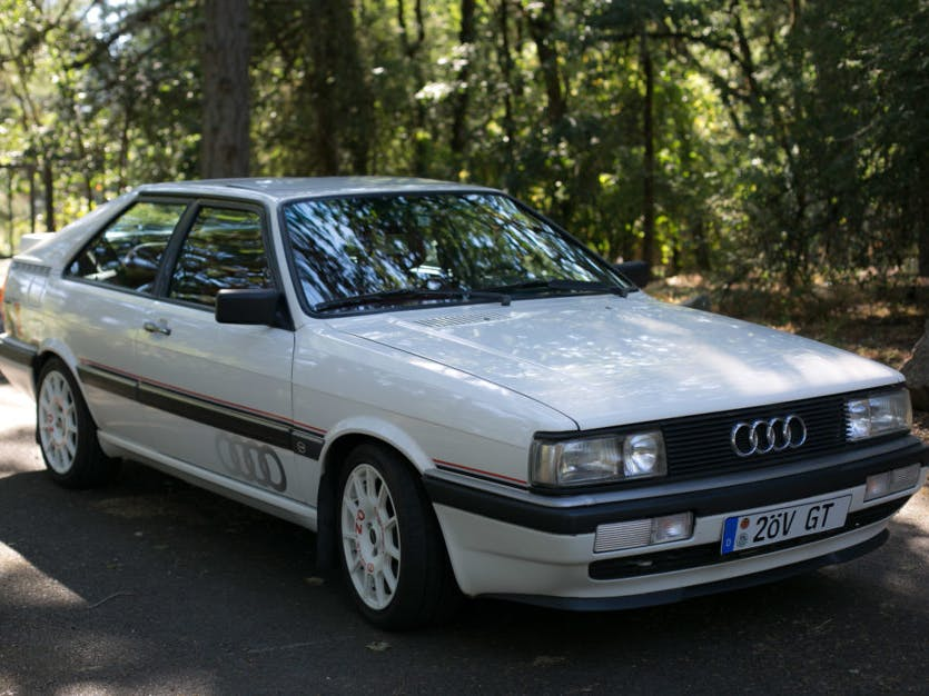 1986 Audi Coupe