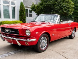 1964 1/2 Ford Mustang Convertible 3-Speed