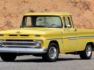 1963 Chevrolet C10 Pickup Sb Fleet Side Big Back Window