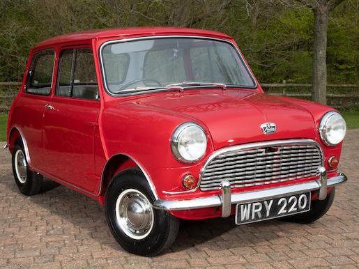 1959 Austin Mini Saloon