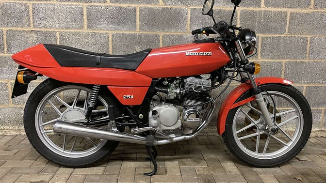 1979 Moto Guzzi 254