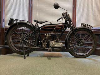 1927 Raleigh 248CC Model 15