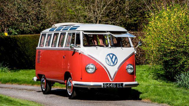 1960 Volkswagen Type 2 Devon Samba Deluxe Micro Bus