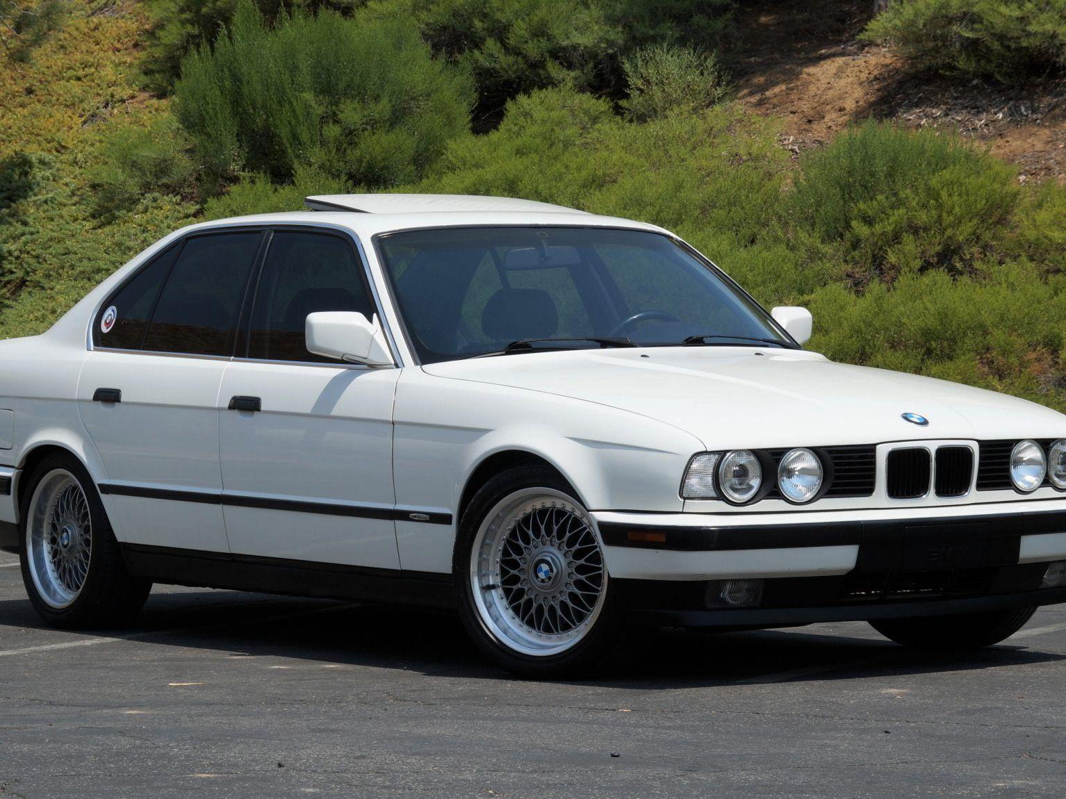 1992 BMW 535i 5-Speed