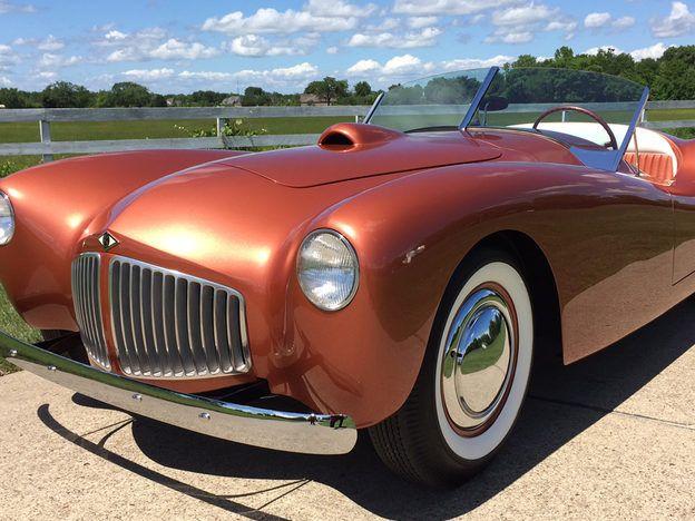 1953 Glasspar G2 Roadster