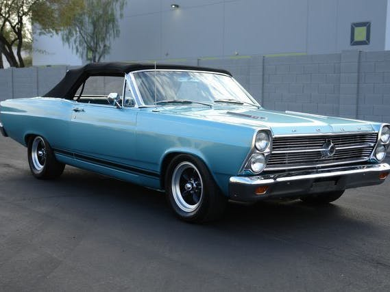 1966 Ford Fairlane S Code Gta Convertible