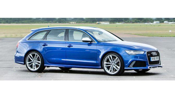 2016 Audi  RS6 Tfsi V8 Quattro Avant