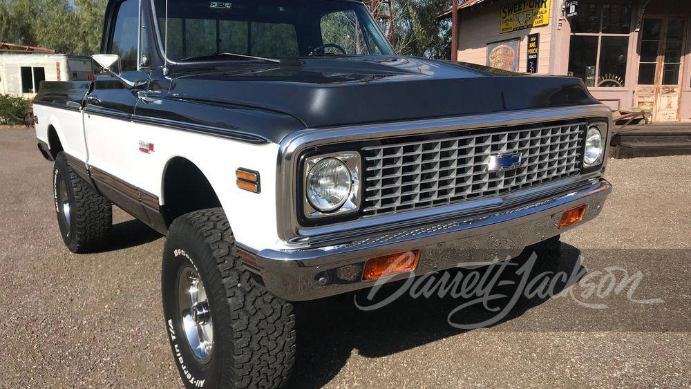 1972 Chevrolet K10 Custom Pickup