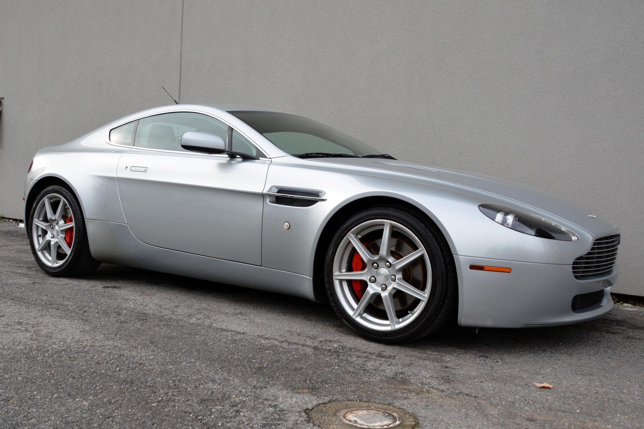 2007 Aston Martin V8 Vantage Coupe 6 Speed Vin Scfbb03b97gc04432 Classic Com