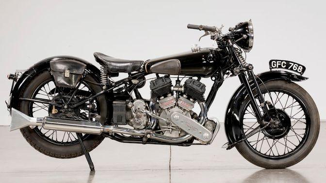 1936 Brough Superior SS80