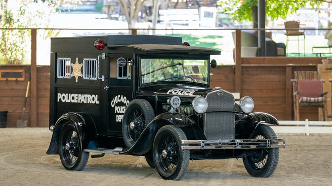 1931 Ford Model A Chicago Police Paddy Wagon