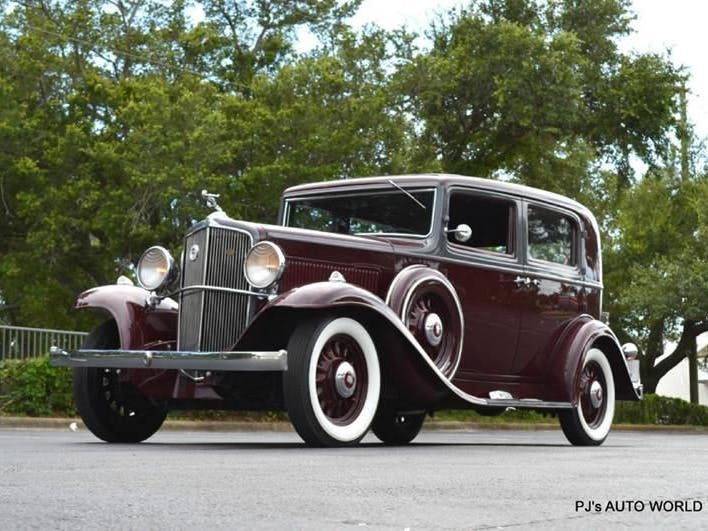 1933 Nash Big Six