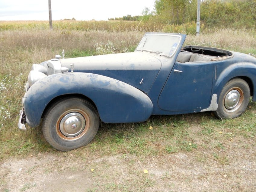 1947 Triumph Roadster 1800 Project