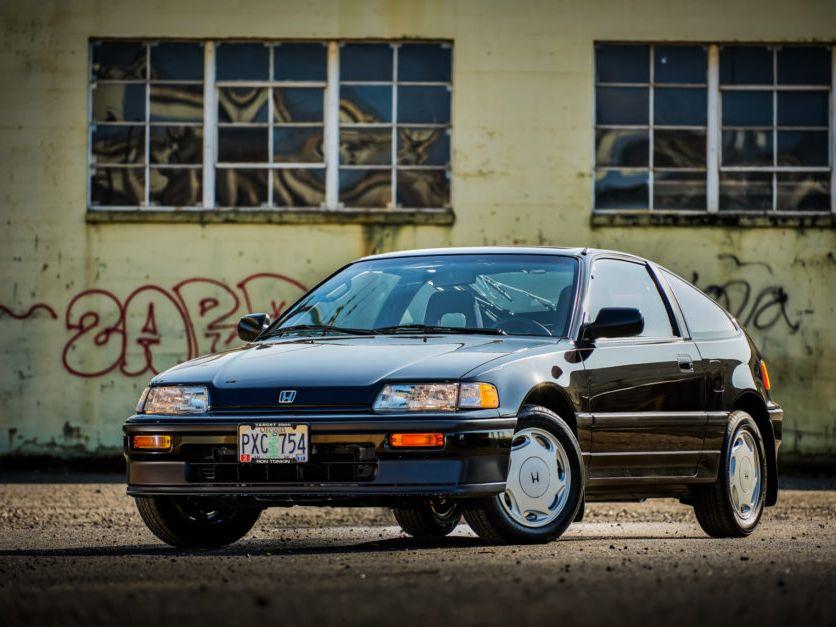 1989 Honda Crx SI 5-Speed