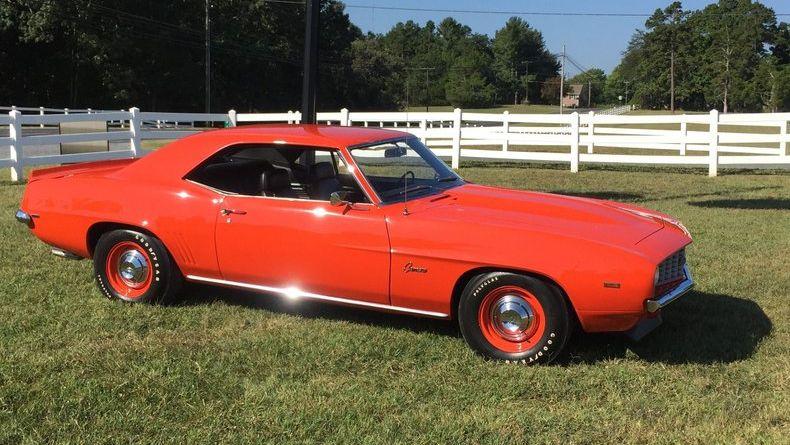 1969 Chevrolet Camaro Copo Replica
