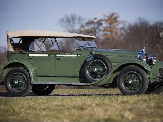 1928 Stutz Model Bb Four-Passenger Speedster