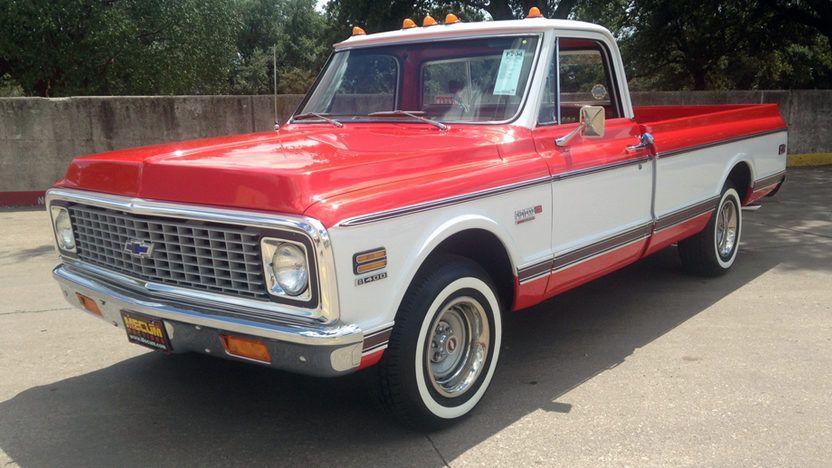 1972 Chevrolet Cheyenne Super Pickup
