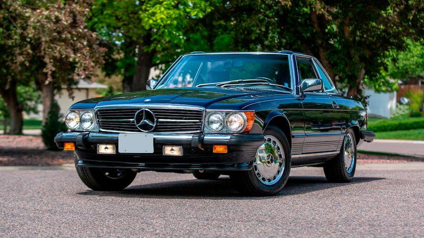 1988 Mercedes-Benz 560SL Convertible