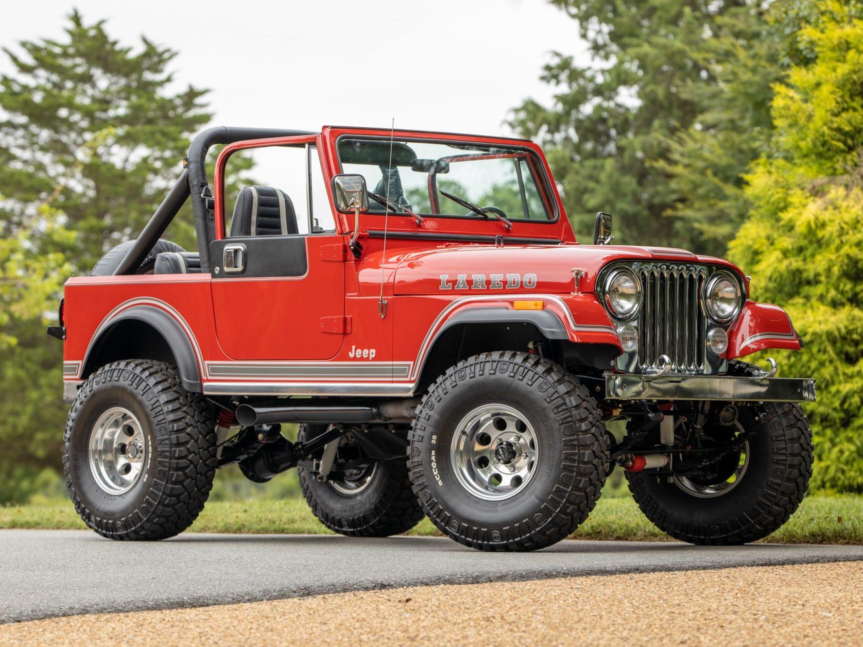 1983 Jeep CJ-7 Laredo 5-Speed