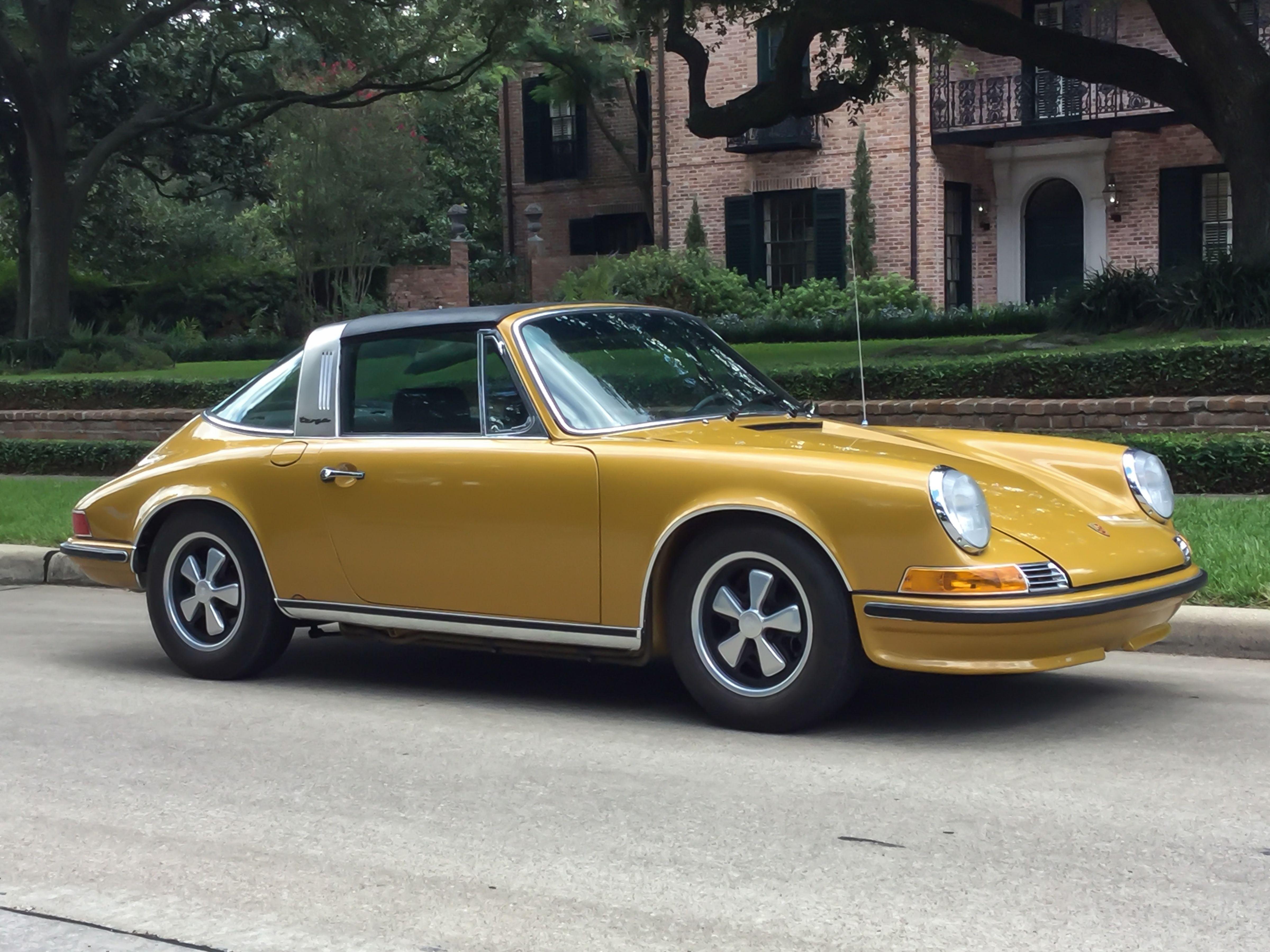 1972 Porsche 911S Targa 2.7l