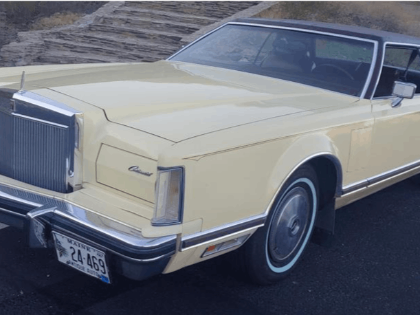 1977 Lincoln Mark Coupe