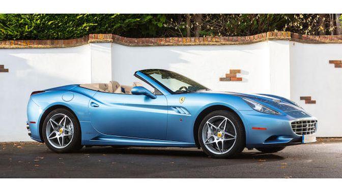 2012 Ferrari California Hardtop Convertible