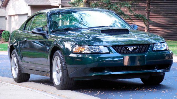 2001 Ford Mustang Bullitt Coupe