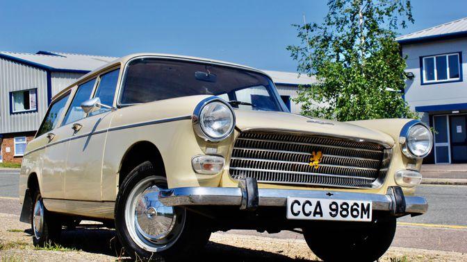 1974 Peugeot 404