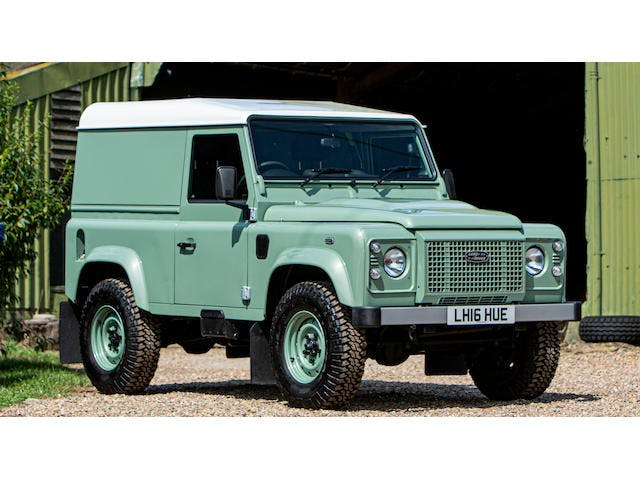 2016 Land Rover  Defender 90 Heritage Hardtop 4X4 Utility