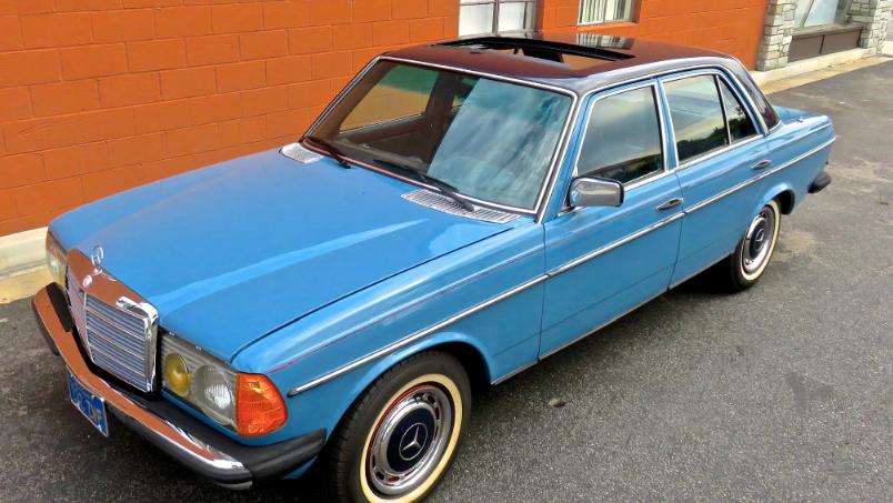 1980 Mercedes-Benz 300D 4-Speed
