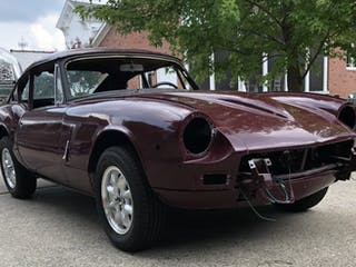 1970 Triumph GT6 MKII Project