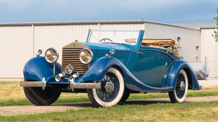 1926 Rolls-Royce 3 Position Drophead Coupe