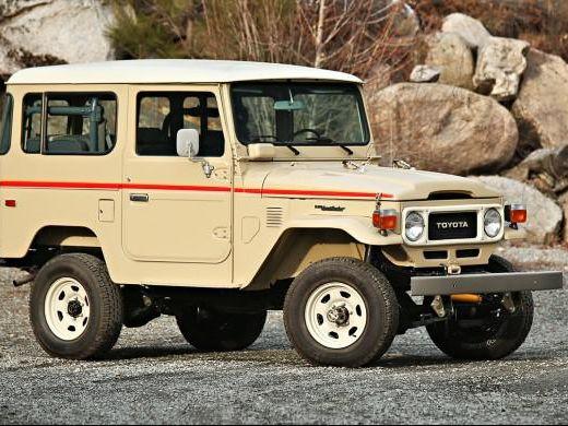 1983 Toyota FJ40 Land Cruiser