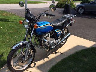 1978 Honda CB400T Hawk II