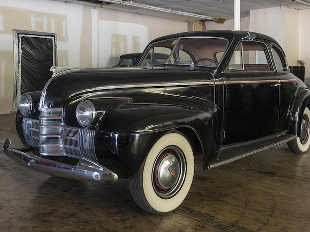 1940 Oldsmobile 70 Series Club Coupe