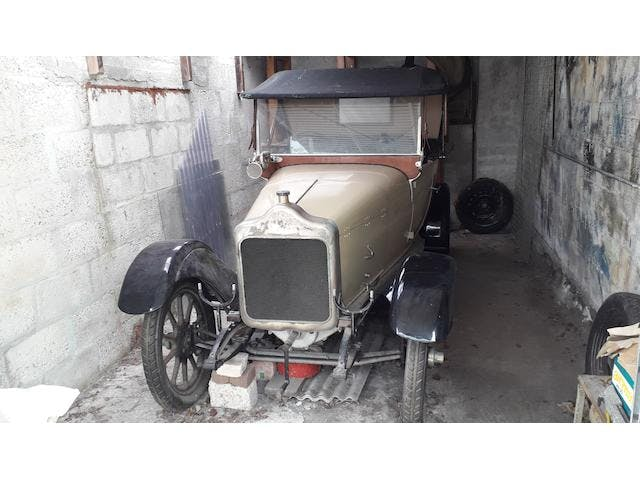 1921 Calcott 11.9hp Two Seater Plus Dickey Project.