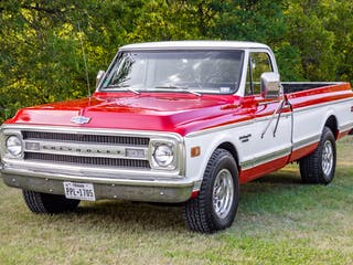 1969 Chevrolet C20 Custom Camper