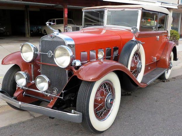 1931 Lasalle Convertible Sedan