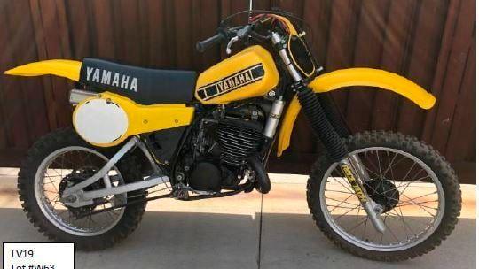 1979 Yamaha YZ400