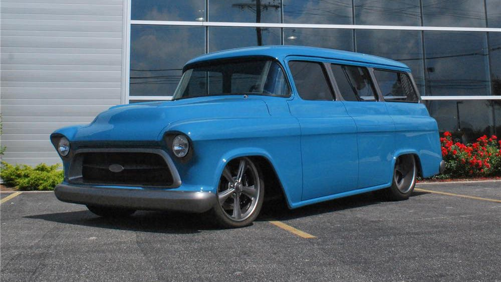 1957 Chevrolet Suburban Roadster Shop Custom