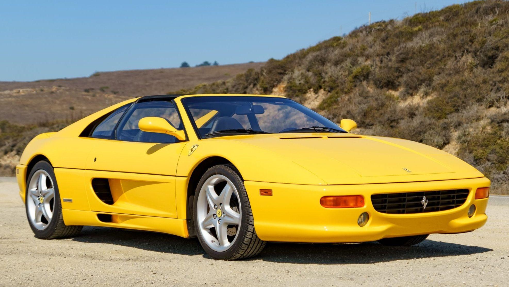 1999 Ferrari F355 Gts F1 Vin Zffxr42a6x0114100 Classic Com