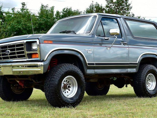 1986 Ford Bronco XLT