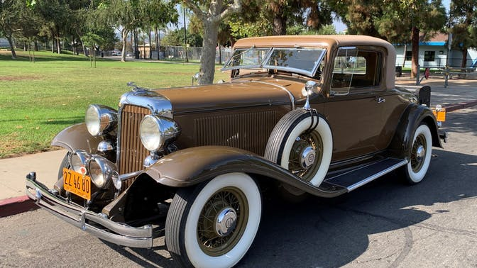 1932 Chrysler Series CP8 Rumble-Seat Coupe