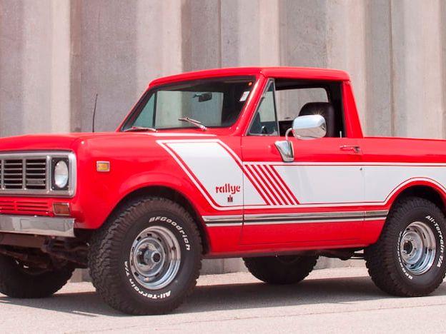 1976 International Scout Pickup