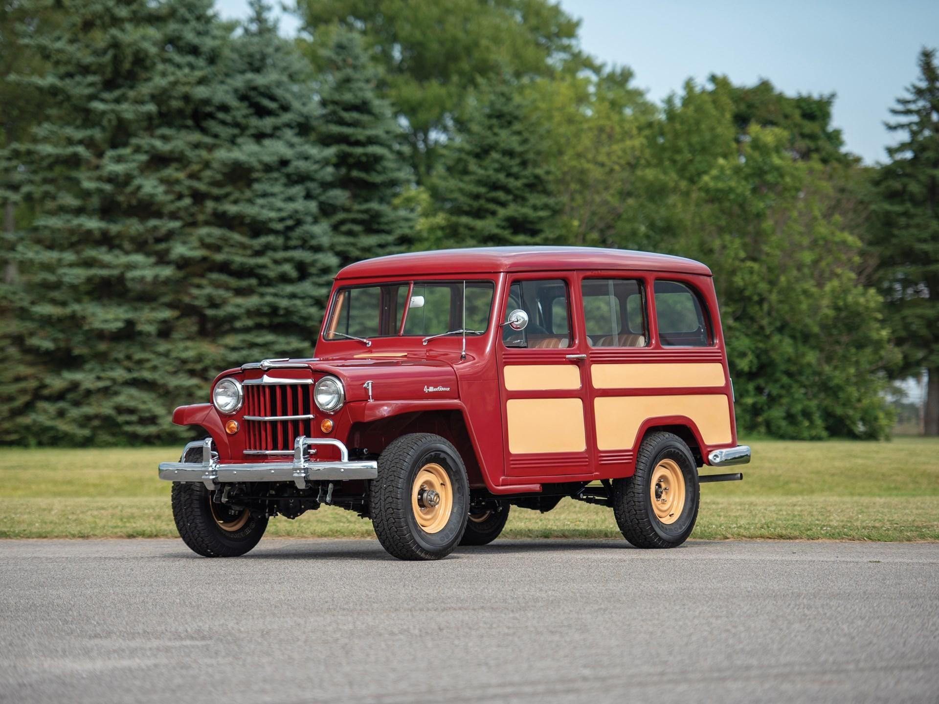 1955 Willys 4-Wheel-Drive Station Wagon