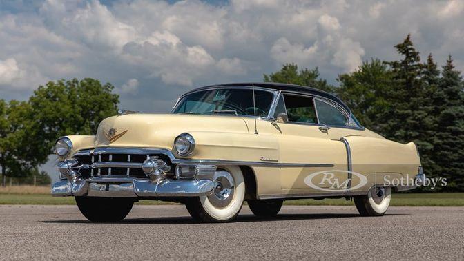 1953 Cadillac Series 62 Coupe De Ville
