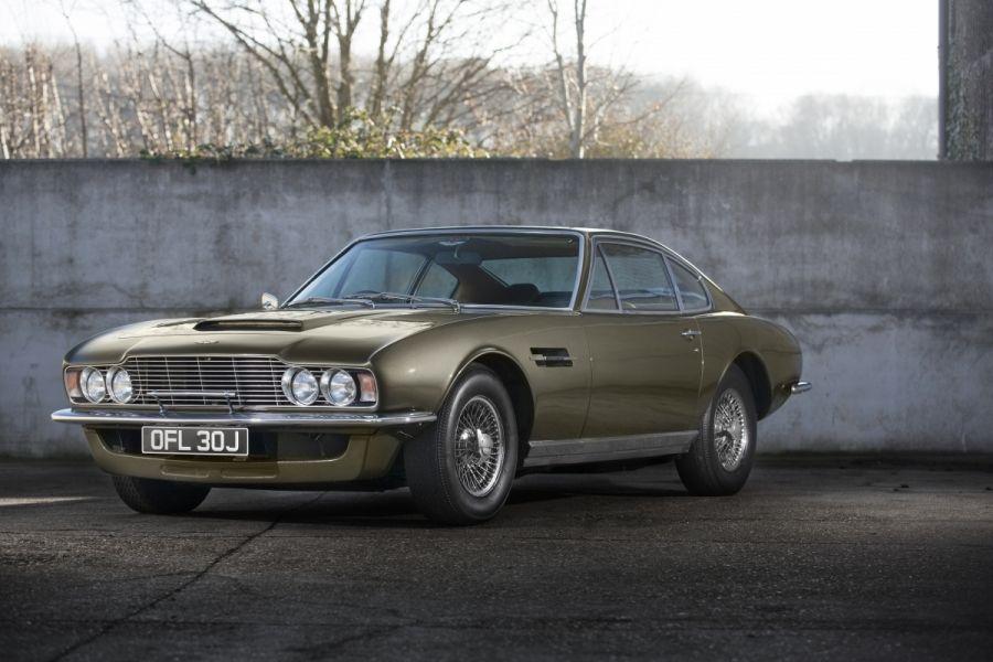 1970 Aston Martin Dbs 6 Vantage Vin Dbs 5662 R Classic Com