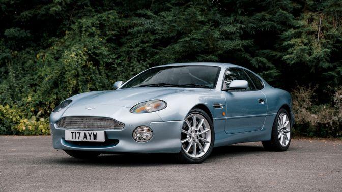 2000 Aston Martin DB7 Vantage - Manual